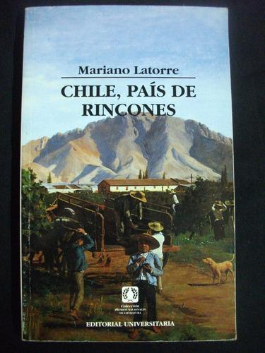 chile, país de rincones / mariano latorre