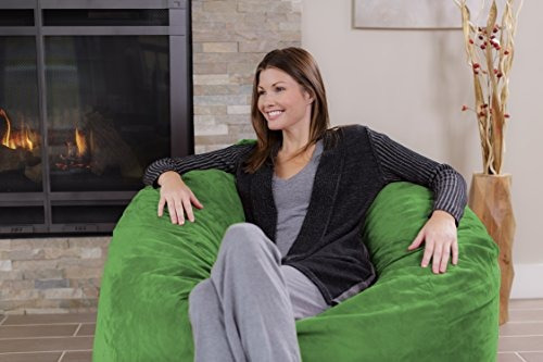 Excellent Chill Sack Bean Bag Chair Giant 4 Memory Foam Furniture Ibusinesslaw Wood Chair Design Ideas Ibusinesslaworg