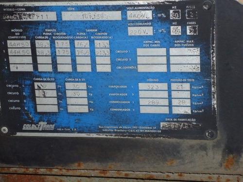 chiller - coldex trane - refrigeração industrial