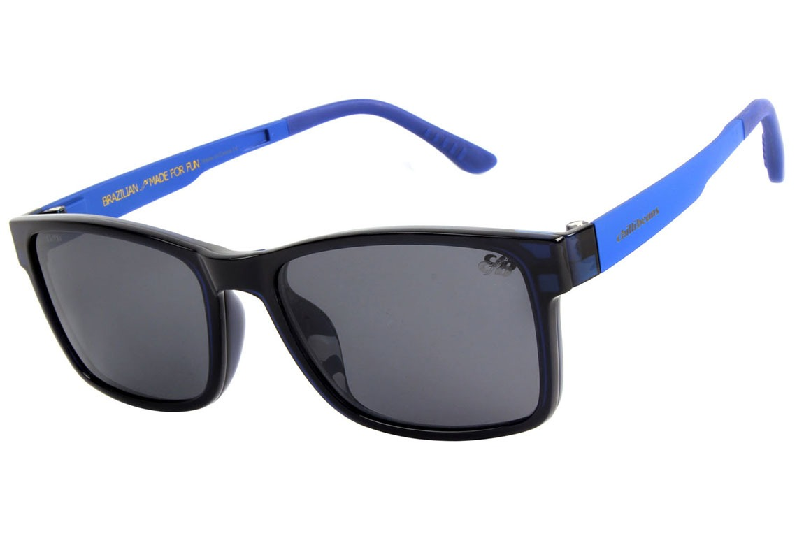 184e5a2d9 Chilli Beans Clip-on Lv.mu 0021 - Óculos De Grau 0808 Azul - R$ 349 ...
