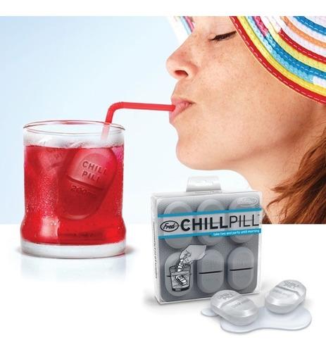 chillpill friend and friends (molde de hielos)