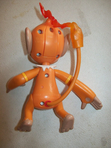 chimchar jakks pacific pokemon nintendo electrónico 2007