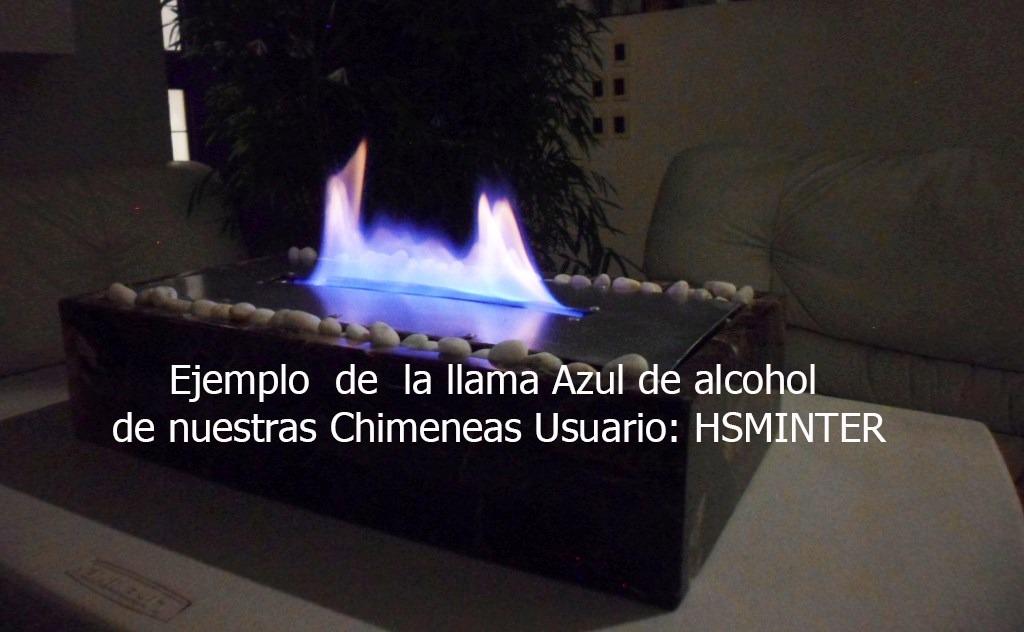 Chimenea de alcohol etanol doble quemador m rmol 100 for Chimeneas de alcohol