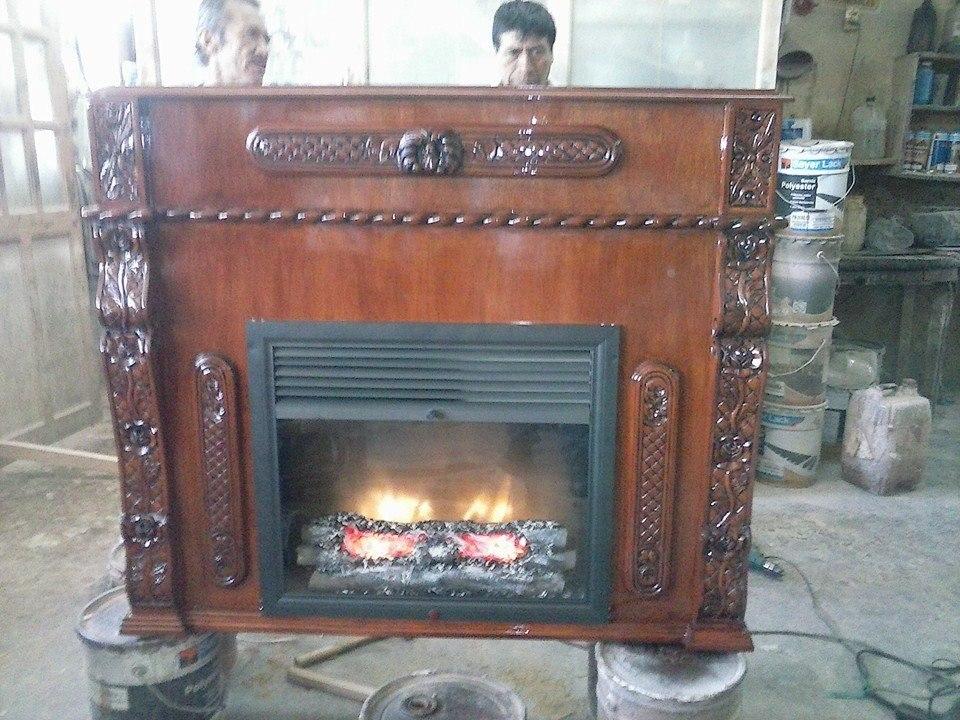 Chimenea de calefaccion luis xv 10 en mercado libre for Chimeneas para calefaccion