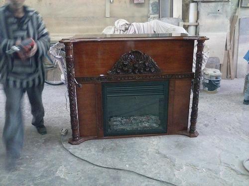 Chimenea de calefaccion luis xv 10 en mercado libre - Adaptar chimenea para calefaccion ...