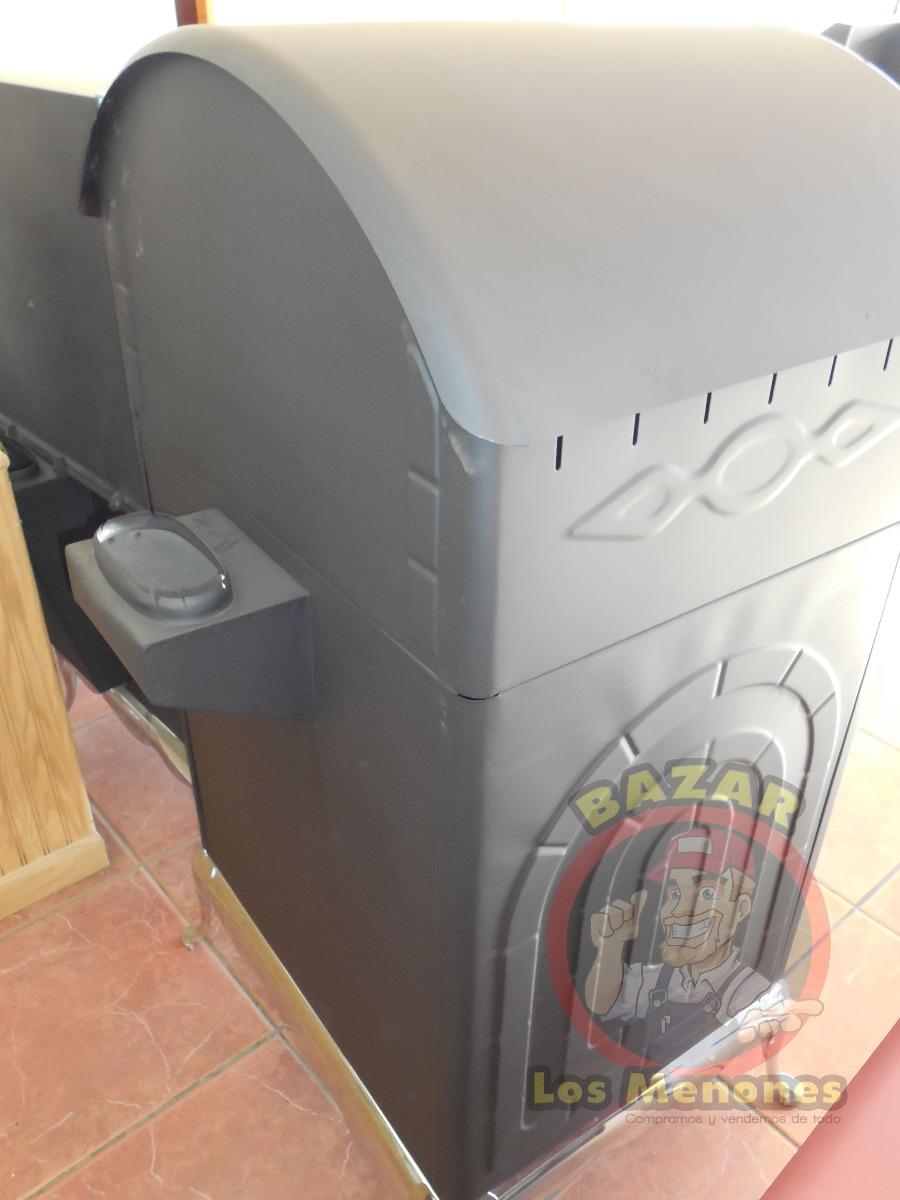Chimenea de le a con horno cocedor calefactor 7 499 - Chimenea horno de lena ...