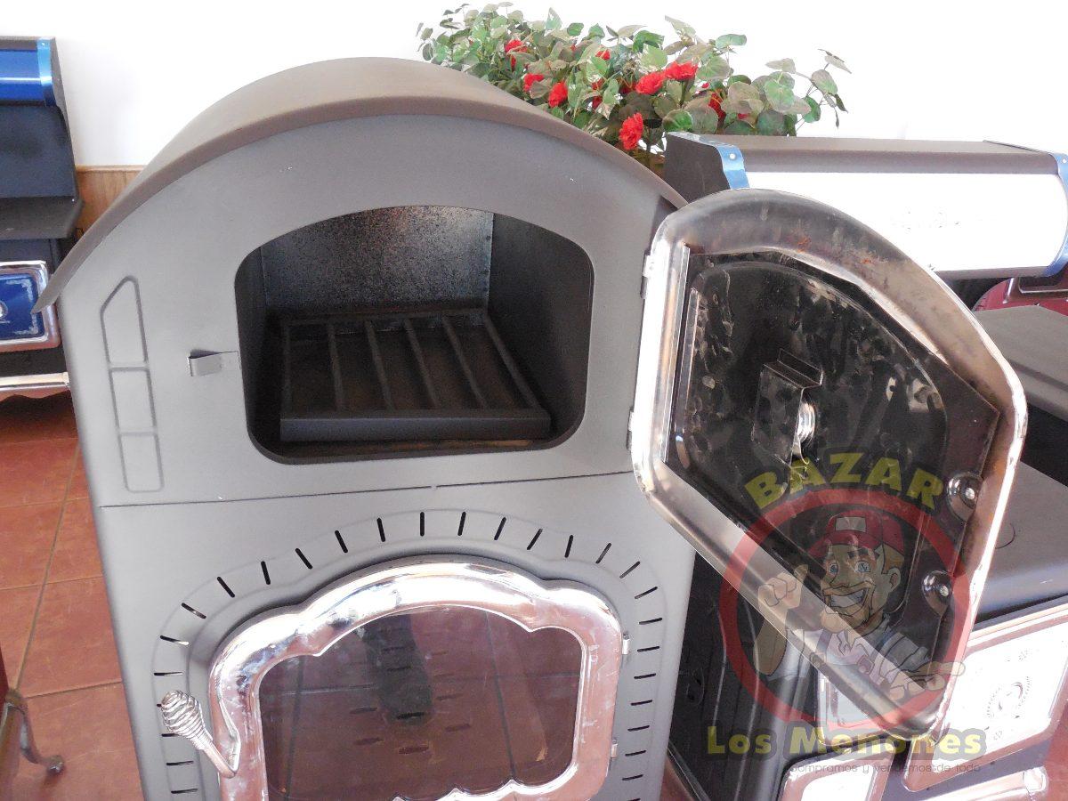 Chimenea de le a con horno cocedor calefactor 8 999 - Chimenea horno de lena ...