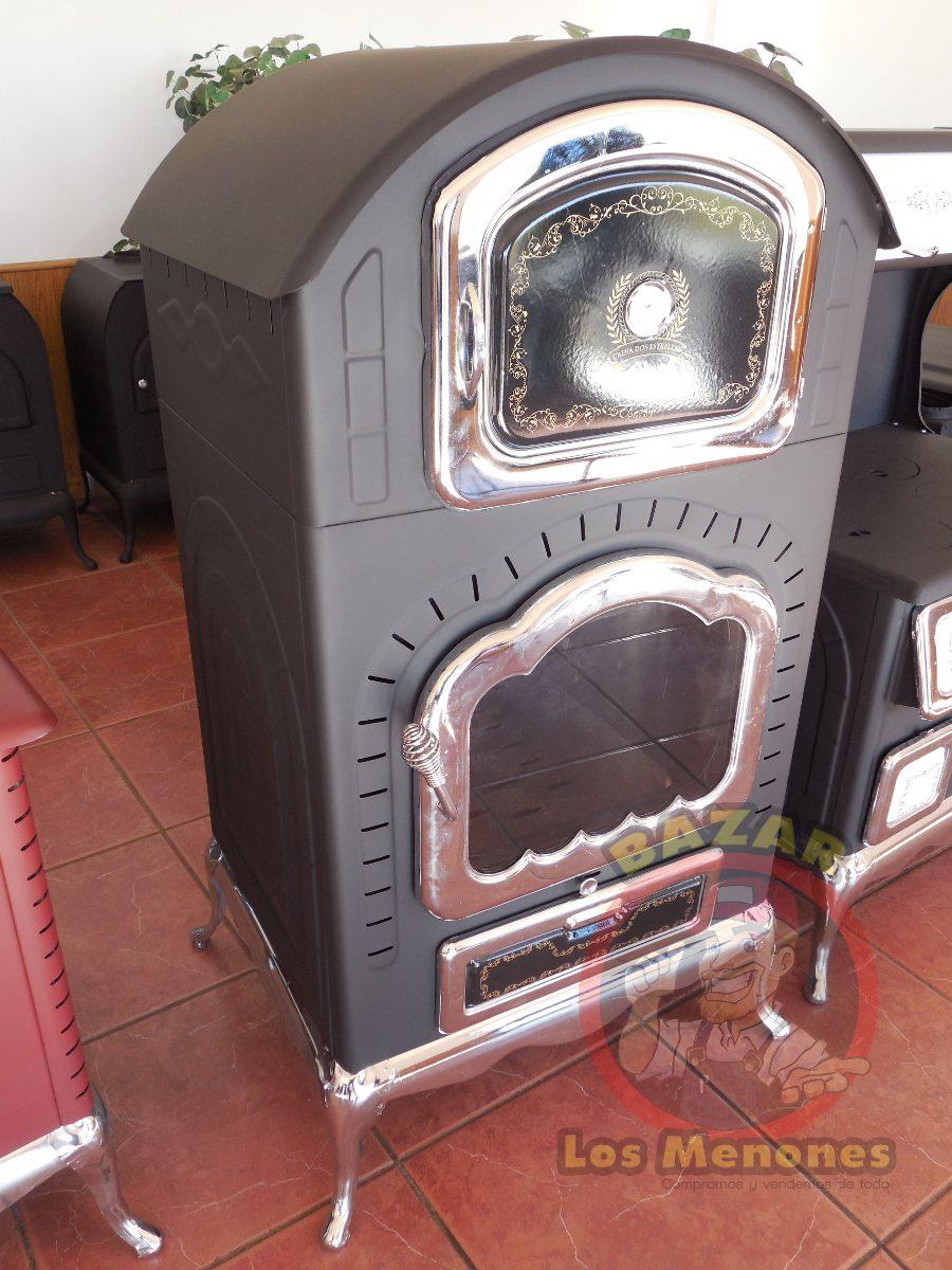 Chimenea de le a con horno cocedor calefactor 8 999 - Chimenea con horno de lena ...