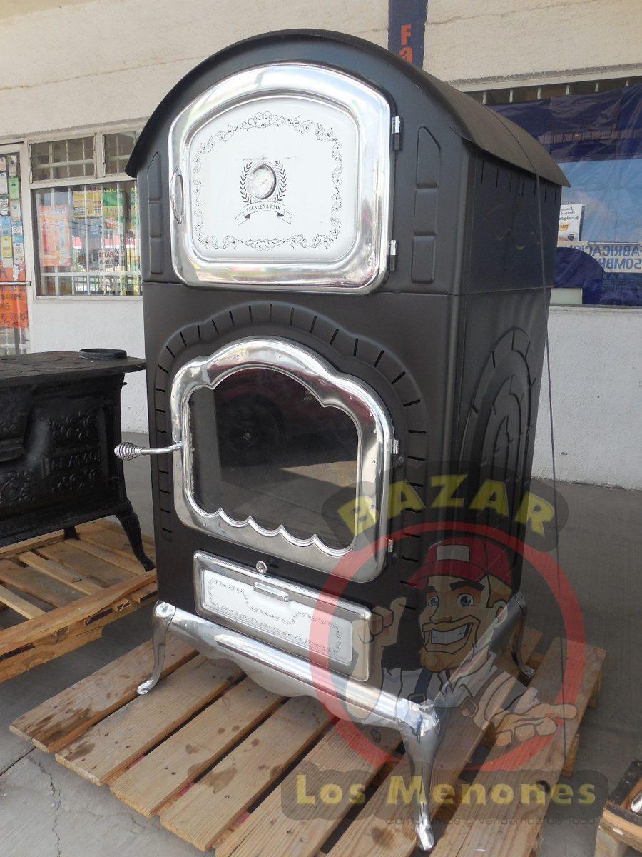 Chimenea de le a con horno cocedor modelo jk 04 8 999 - Chimeneas para hornos de lena ...