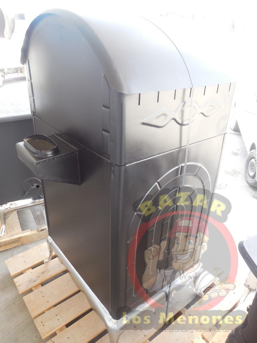 Chimenea de le a con horno cocedor modelo jk 04 8 999 - Chimenea horno de lena ...