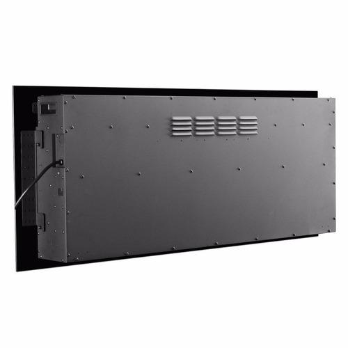 chimenea eléctrica de pared empotrable 50 plg control remoto
