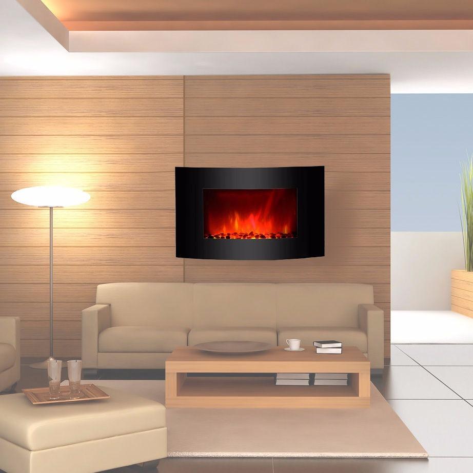 Chimenea electrica pared clevr 36 de colores pantalla - Chimeneas de luz ...