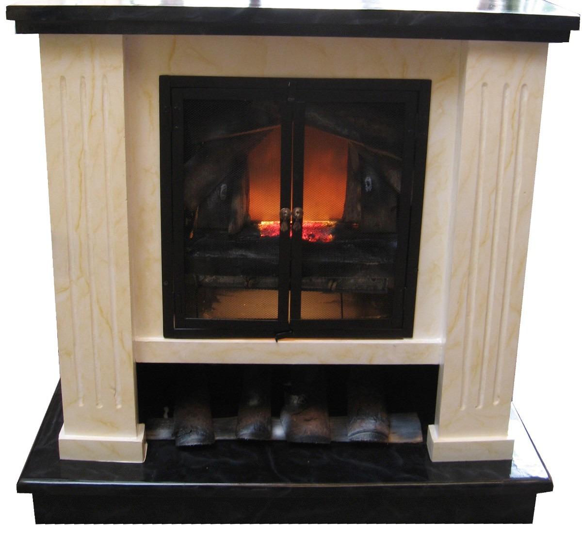 Chimenea fogata para chimenea el ctrica con calefacci n en mercado libre - Mueble para chimenea electrica ...