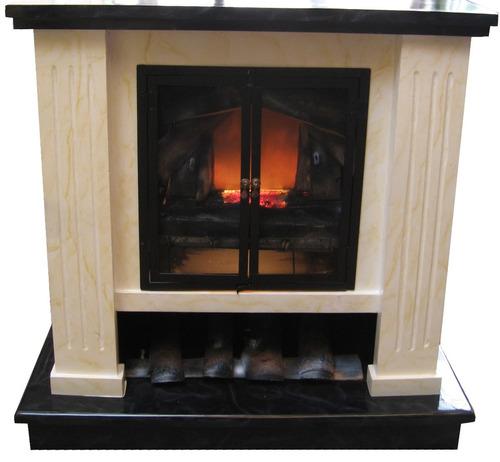 Chimenea fogata para chimenea el ctrica con calefacci n for Chimeneas para calefaccion