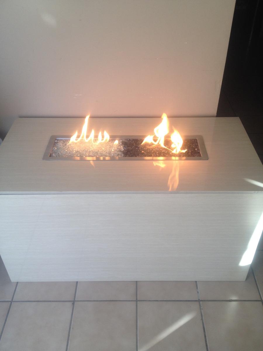 Chimenea quemador de gas contempor neas minimalistas - Chimenea de gas precio ...