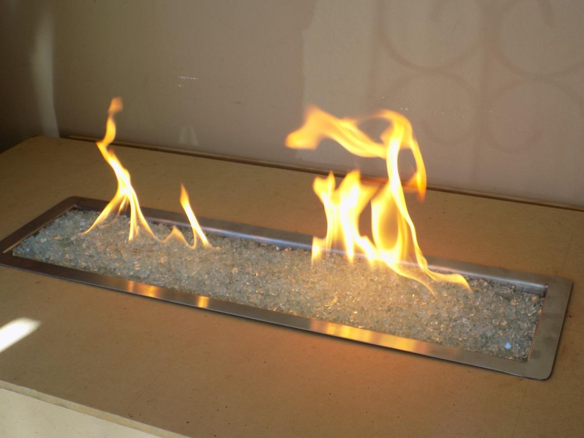 Chimenea quemador de gas contempor neas minimalistas 4 en mercado libre - Estructuras de chimeneas ...