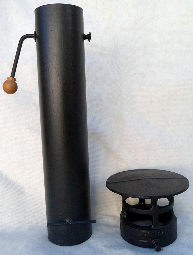 Chimeneas de barro con difusor especfico parrillas barbacoas horno de barrohornos montados - Chimeneas de barro ...