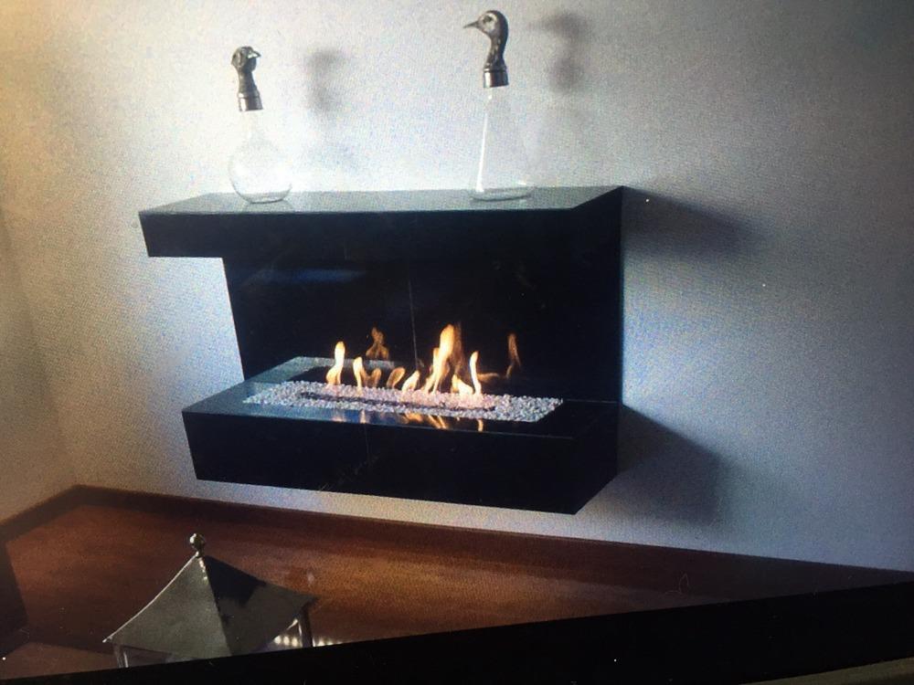 Chimeneas originales llar de foc i tele en nuestra for Diseno de hogares a gas