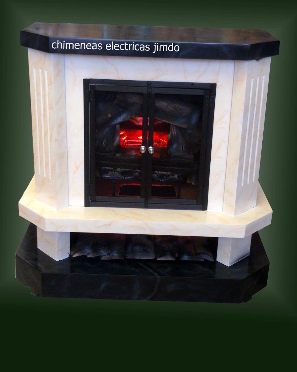 Chimeneas el ctricas con calefacci n en for Chimeneas para calefaccion