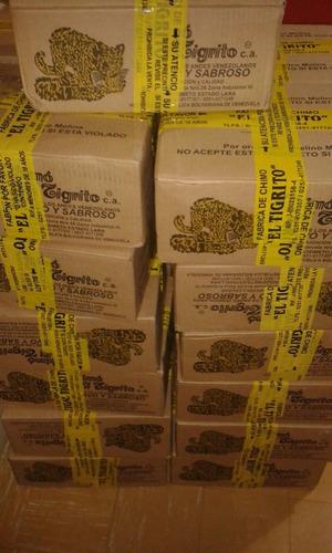 chimo tigrito 18gr original. por paquete (6und) y bulto