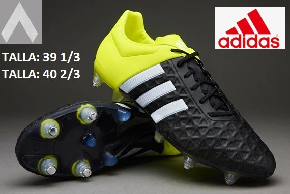 online retailer 94cd2 41094 Chimpunes adidas Con Toperoles Ace 15.2 39 1/3 Y 40 2/3 Nuev