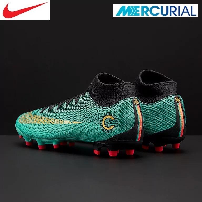 7f3d60228c1ec Chimpunes Nike Mercurial Superfly Vi Cr7 Fg Nuevos Originale - S ...
