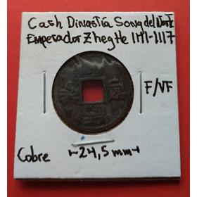 China Cash Dinastía Zheng He Del Norte (1111-1117)