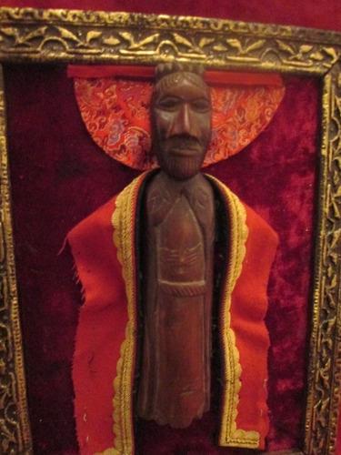 china fetiche vudu africano tallado madera arte antiguo