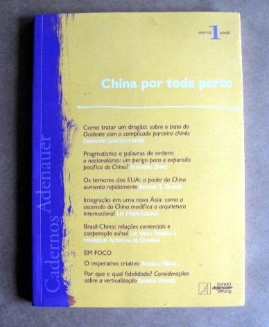 china por toda parte - cadernos adenauer