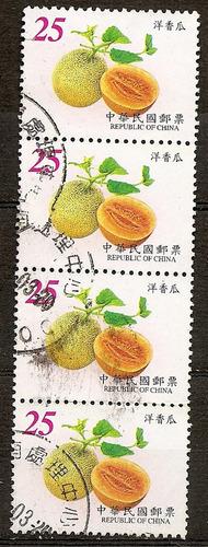 china república formosa taiwan bloquesito 4v.año2001 n°3348
