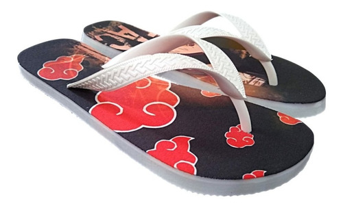chinela akatsuki chinelo sashuke envio imediato anime naruto
