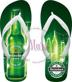 d5b62268122217 Chinela Havaiana Personalizada Cerveja Heineken 01