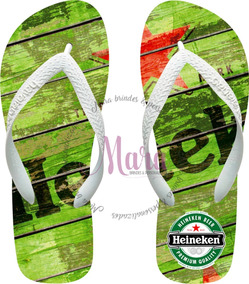 c98cef700f62b7 Chinela Havaiana Personalizada Cerveja Heineken 02