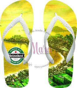 831376bc29f527 Chinela Havaiana Personalizada Cerveja Heineken 03