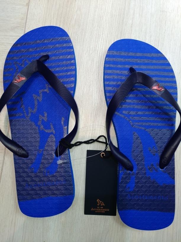 3e79a1373 Chinelo Acostamento Original Azul 43/44 - 13882 - R$ 115,00 em ...