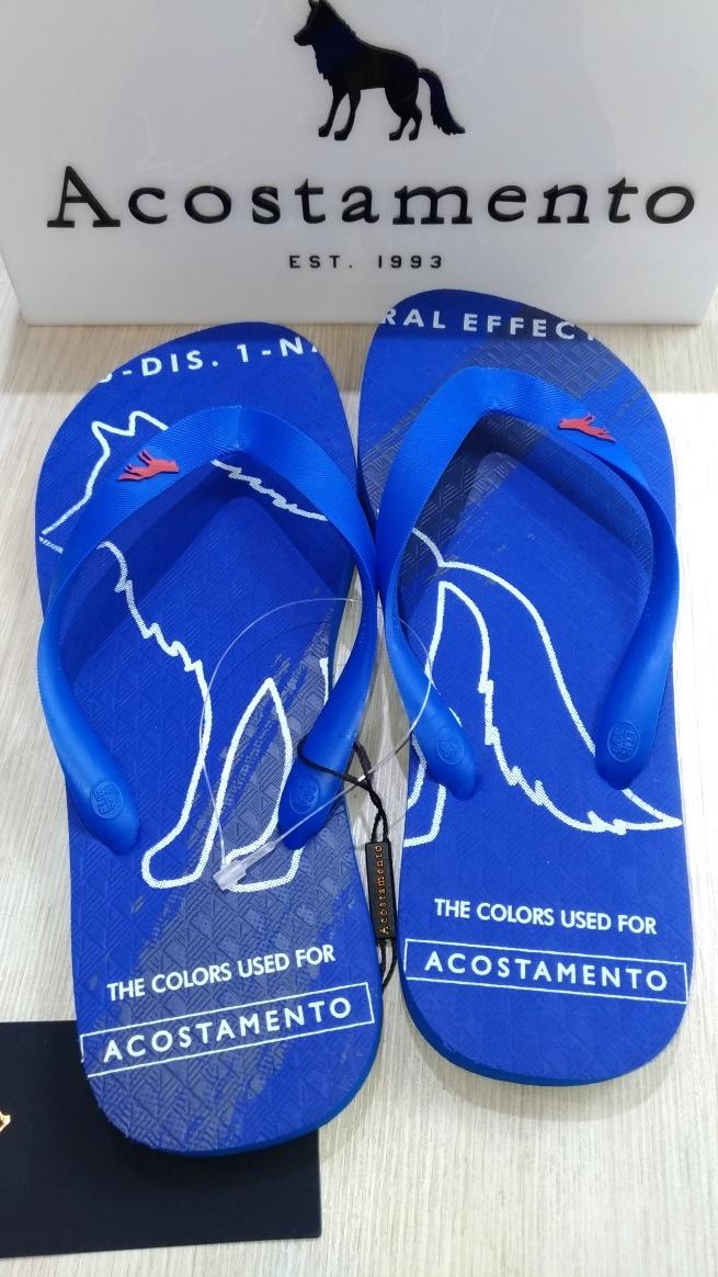 bf247c56a Chinelo Acostamento14253 Azul Royal 41/42,43/44 - R$ 115,00 em ...