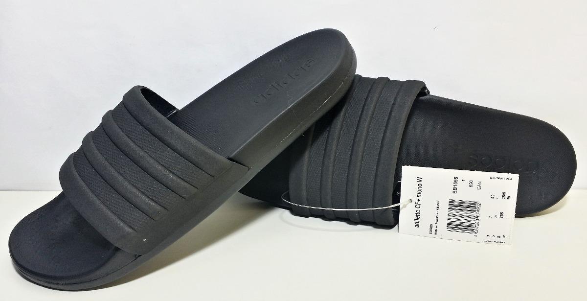 chinelo adidas adilette cloudfoam mono. Carregando zoom. b4421cfa4dd18