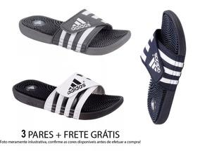 a06bbce79ae Chinelos Da Adidas Camuflado - Chinelos para Masculino no Mercado ...