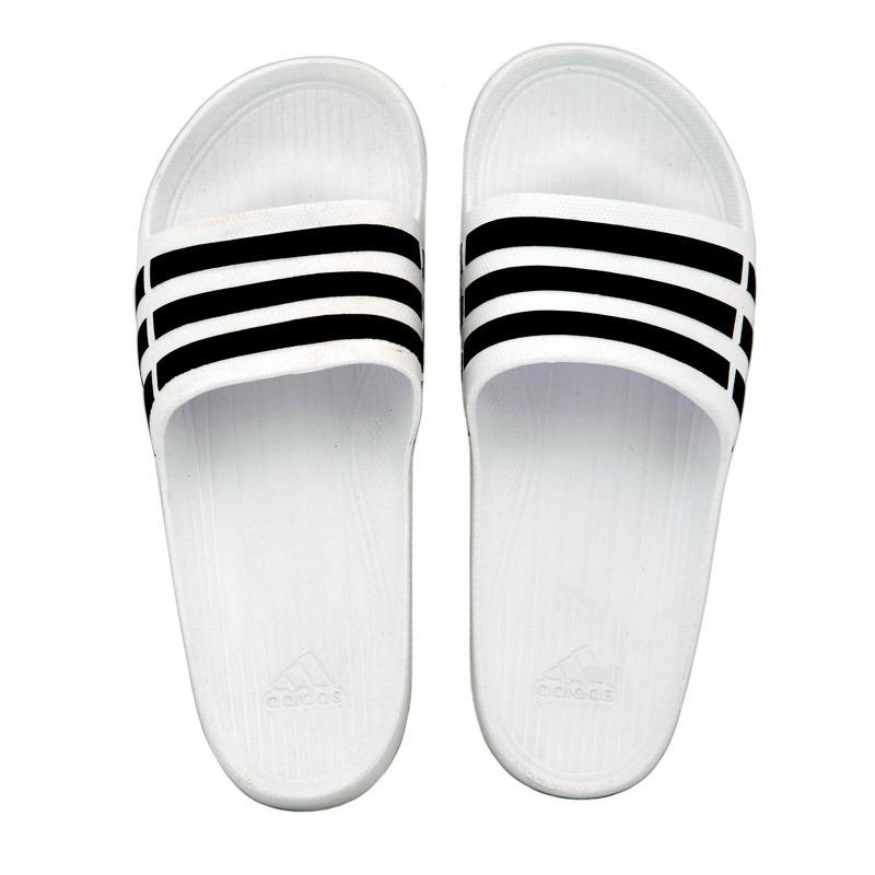 41f984d51 Chinelo adidas Duramo Slide - Branco - 42/43 - R$ 69,90 em Mercado Livre