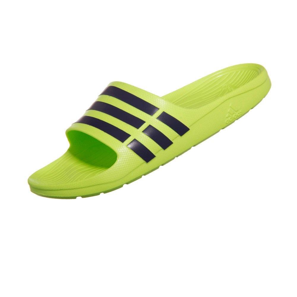ca47607d6a T锚nis Adidas Energy Boost 3 Masculino Azul Verde Limao Esporte e  Estilo
