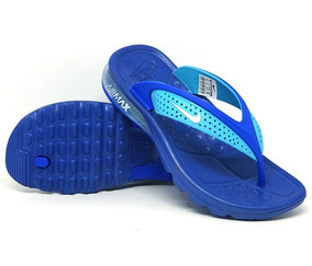 reputable site b17ac fd262 Chinelo Air Max Azul