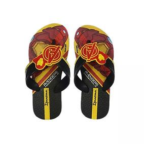 fd86e2d56 Chinelo Homem Ferro Chinelos - Sapatos com o Melhores Preços no Mercado  Livre Brasil