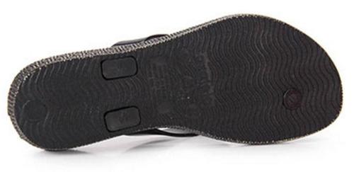 chinelo azaleia tropical eva confort salto 2,5cm - 246 preto