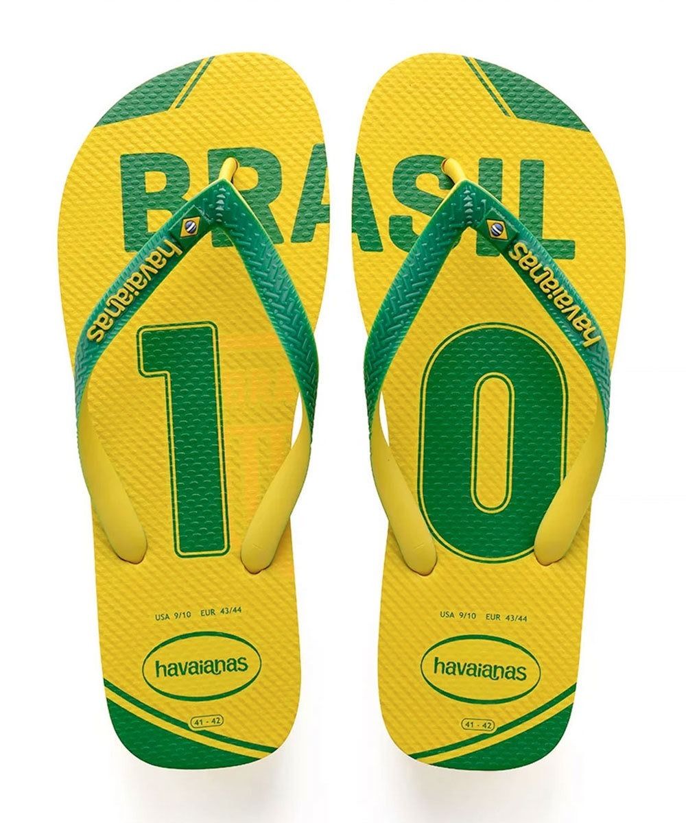 separation shoes 25130 f5c3a Chinelo Brasil Teams Havaianas Brasil
