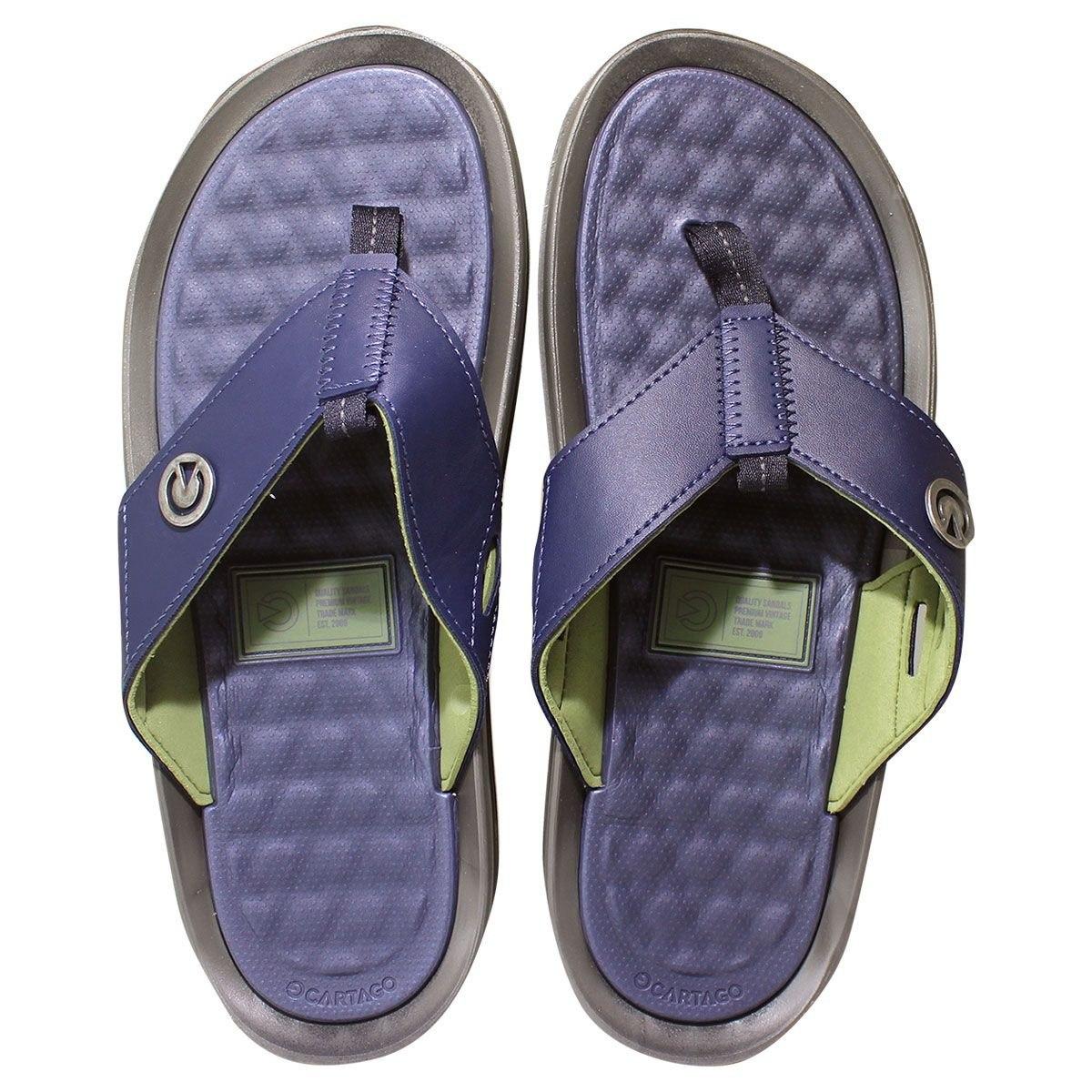 93df9b940 chinelo cartago santorini ii - azul verde - frete grátis. Carregando zoom.