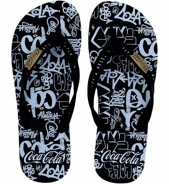 91d764ea0f Chinelo Coca-cola Masculino Cc2291 - R  80