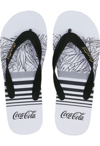 ff25834cbc Coca Cola Shoes Asteca Branco Masculino Chinelos - Sandálias e ...