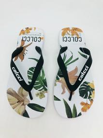 981685d95 Chinelo Slide Colcci Floral - Calçados, Roupas e Bolsas no Mercado Livre  Brasil