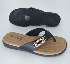 8222df06c Sandalias Comfortflex - Sapatos com o Melhores Preços no Mercado Livre  Brasil