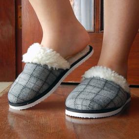 c88eadf49 Pantufa Feminina Inverno Adulta Ou Infantil Confortável Ws01